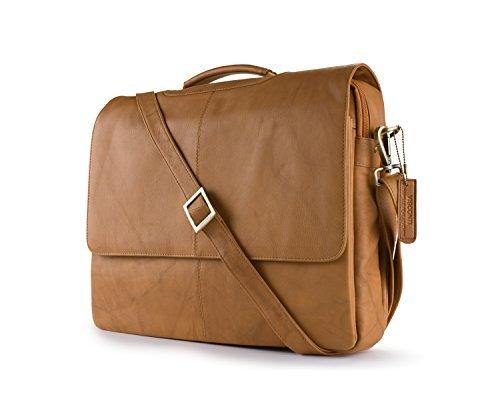 Visconti Visconti Leather Business Case Bag Briefcase Handbag Medium Sand One Size [並行輸入品]   B079KLW42T