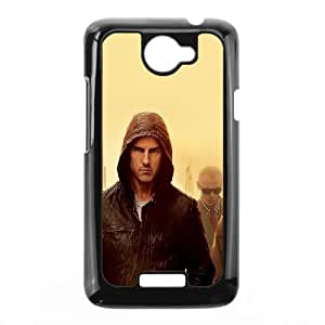 HTC One X Cell Phone Case Black hg11 mission impossible tom cruise film art yellow Zgcgb