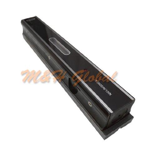 12'' Precision Leveler Graduation .0005 Bar measurement Ruler Bar V Groove Base by Generic (Image #3)