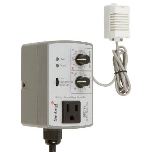 Co2 Controller Ppm (Sentinel GPS BEC-1a WM Basic Wall Mount Environmental Controller)