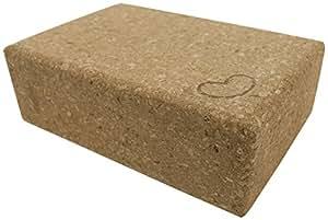 Eco Yoga Cork Blocks 1 Pack 3 in x 6 x in x 9 in Standard Size
