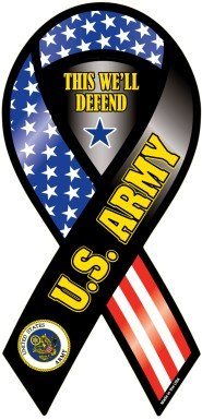 U.S. Army Ribbon Magnet- This We'll Defend