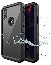 Gelink Custodia Impermeabile per iPhone XR, IP68 Certificato Waterproof Cover Slim Antipolvere AntiGraffio Subacquea Caso Full Protezione Case Protettiva per Apple iPhone XR (6,1 Pollici)