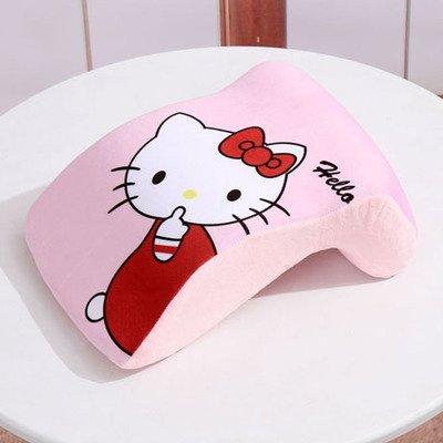 Cartoon Hello Kitty Memory Foam Office Nap Pillow Lovely Students Hold Pillow Travel Pillows- 12.5