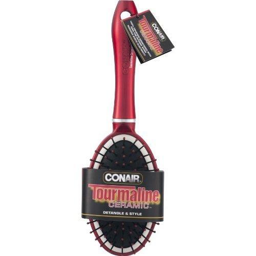 Conair Tourmaline Ceramic Detangle & Style Hair Brush ()