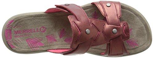 Merrell Adhera Slide Sandal Cranberry