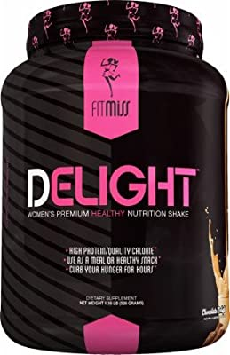 FitMiss Delight Nutrition Shake Chocolate Delight -- 22 Servings from FitMiss
