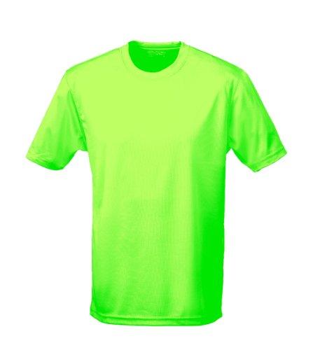 E Green T Just Antisudore Traspirante Cool Electric shirt Hfa0I