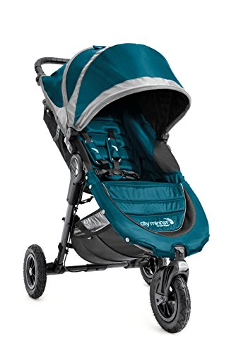 Baby Jogger 2016 City Mini GT Single Stroller - Teal/Gray
