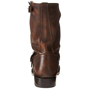 FRYE Women's Veronica Short Boot, Maple Calf Shine, 8.5 M US
