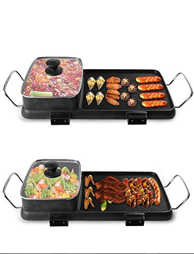 Multi-function Non-Stick Electric Hot Pot by BXB | Korean Style BBQ Hot Pot | Shabu-Shabu Barbecue Dish Electric Cooker by SHOPBXB (Image #2)'