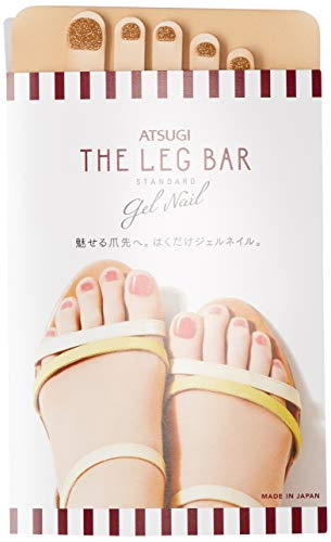 [아츠기(Atsugi)] 스타킹 Atsugi The Leg BAR 젤 네일 스타킹 라메네일풍 반짝반짝 네일 글리터 FP16900