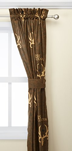Bone Collector Lined Drapes, 84 Inch ()