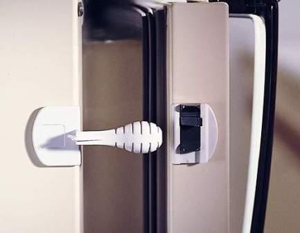 Off Lock Appliance - KidCo On-Off Appliance Lock - White