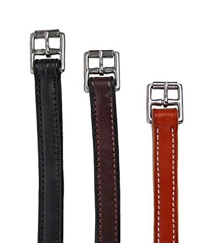 Leathers Stirrup Nylon Center - Nunn Finer Nylon Center Stirrup Leathers