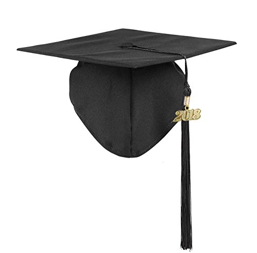 Ninuo Unisex Matte Kindergarten Graduation Cap Tassel 2018 Photography for Kids Baby Toddler (Kindergarten Graduation Caps)