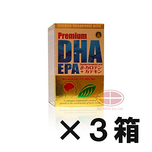 薬師堂製薬 プレミアムDHA EPA β-カロテン+カテキン 300粒 (1) B077P8G9QL 1