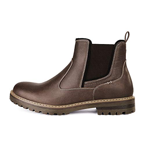 Bruno Marc Men's Casual Chelsea Ankle Boots