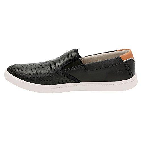 Leather Newood On Slip Men's Black CLARKS Loafer Easy 0qwHTUP