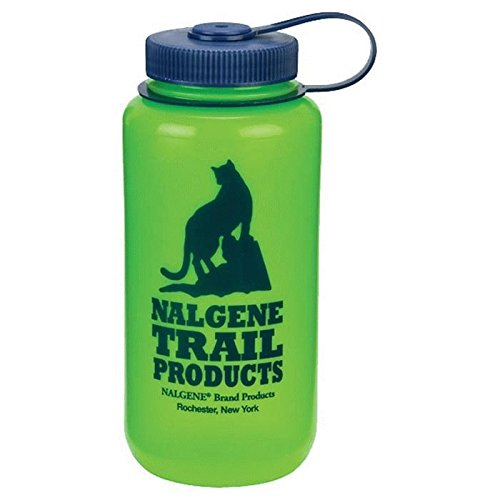 Nalgene HDPE Wide Mouth Water Bottle (Green, - The Buffalo Galleria