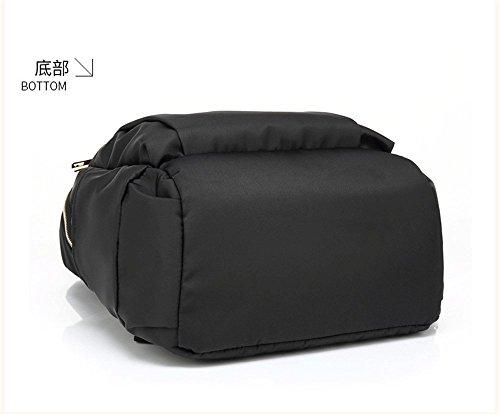 Nero Donna Pack Casual Poke a Zaino Medio fashionFashion New Nero 35 26 tracolla 14cm Borsa medio Borsa Tote RpSwqUBFx
