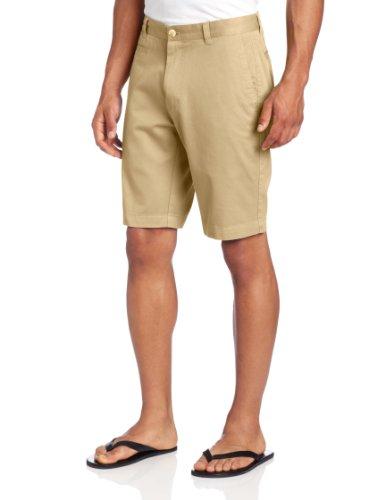Louis Raphael Men's Slim Fit Garment Dye Short, Incense, 34 - Louis Mens Shorts