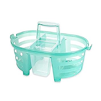 Amazon.com: Shower Caddy 2-in-1-MultiColor Aqua, Pack of 1: Home ...