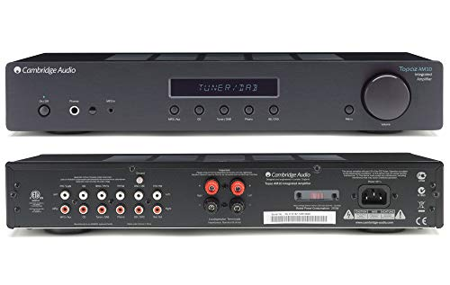 Cambridge Audio Topaz AM10 Integrated Amplifier - Black (Best Speakers For Nad D 3020)