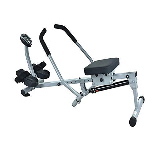 JF Home Rowing Machine, 12 Verstelbare Weerstand, Hd Data Display,Hydraulische Rower Trainer Roeimachine Voor Thuis Gym…