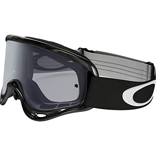 Oakley O-Frame MX Sand Adult Off-Road Motorcycle Goggles Eyewear - Jet Black/Grey / One Size Fits All