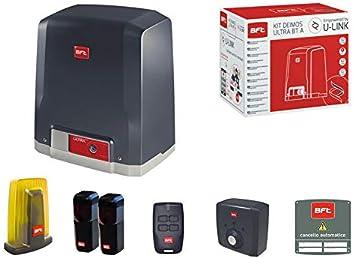 BFT Deimos Ultra BT A400 - Kit de Puerta corredera eléctrica (24 V, automático): Amazon.es: Bricolaje y herramientas