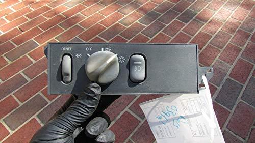 Hiscarpart #9857K Pontiac Grand Prix OEM Headlight Head Light LAMP Switch Control Unit ()