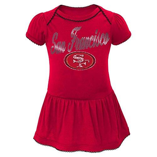 49ers infant dress - 2