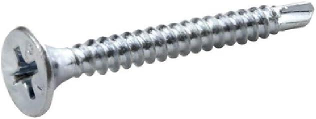 Pack of 12 Steel Grip-rite 114zsds1 Phillips Drywall Screws Zinc-Plated