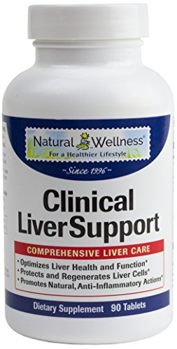 Liver Cleanse, Detox, Repair & Optimizer - 1,680mg of Total Liver Protection: Milk Thistle 10X Absorption, Turmeric 95% Curcumin, Beet, and More - Natural Wellness Clinical Liver Support