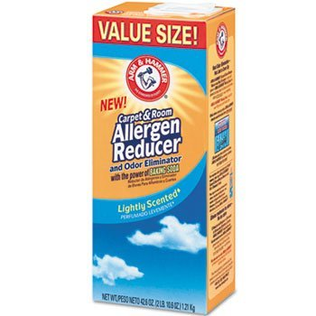 Arm & Hammer CDC 84113 42.6 oz Carpet And Room Allergen Reducer And Odor Eliminator, Shaker Box - Room Allergen Reducer