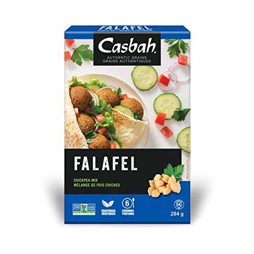 (Casbah Authentic Grains, Falafel Chickpea Mix, 10 Ounce (Pack of 12))