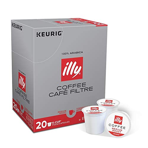 illy K-Cup Coffee Pods Medium Roast (Ally Coffee)
