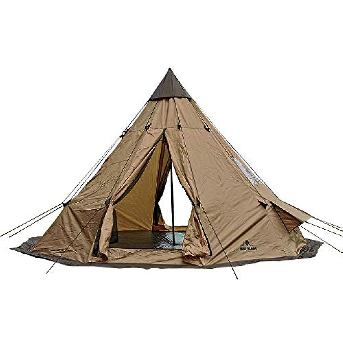 [해외] MIRROR SHOP 텐트 원 폴 텐트 그랜드 ping 텐트 풀 블랙우즈 펙(peg)(말뚝)부 로프부 폴리에스테르 MS-3OD09