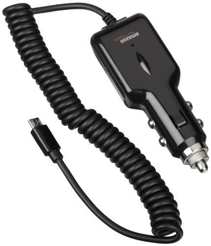 AmazonBasics Micro USB Universal Car Charger for Android (2.1 Amp Output)
