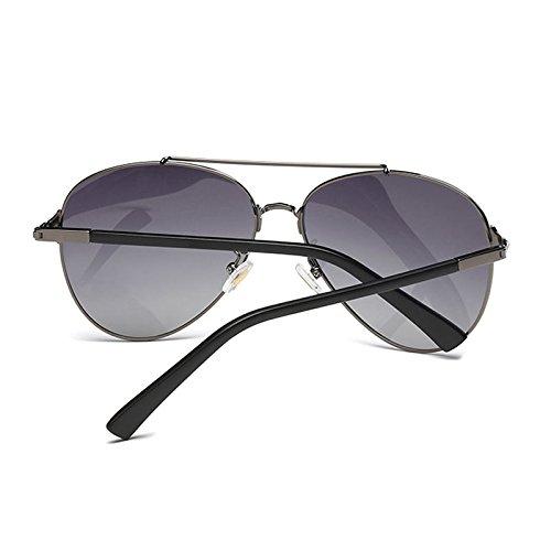 Grey Anti Dark a UV Light Driver Polarized lele de Mirror Sol vértigo Resistente Fashion los Ai Gafas aOpqWR