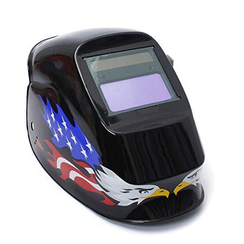 Doradus Rossi Solar Auto oscurecimiento casco de soldadura/máscara de soldadura MIG TIG: Amazon.es: Electrónica