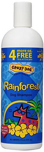 Baby Crazy Powder Dog - Crazy Dog Rain Forest Shampoo for Dogs, 16-Ounce