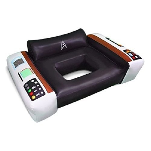 Big Mouth Toys Star Trek Captain's Chair Pool Float