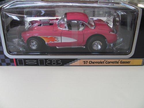 Chevrolet Corvette Gasser Deluxe Model Die Cast Metal 1:18 Scale ()