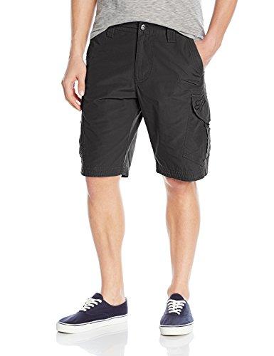 Fox Men's Slambozo Standard Fit 22″ Canvas Cargo Short, Black, 34