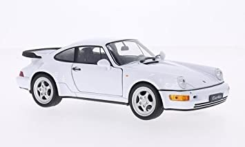 Porsche 911 (964) Turbo, white , Model Car, Ready-made,