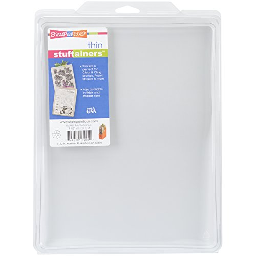 STAMPENDOUS Thin Storage Solutions 8-1/2-Inch by 11-Inch by -