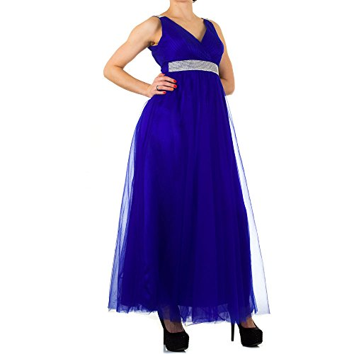 Ital-Design - Vestido - para mujer turquesa
