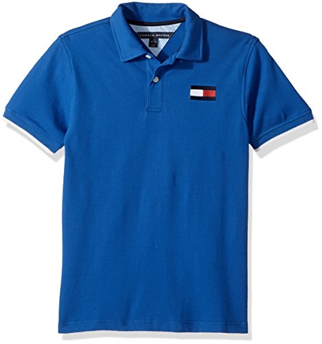 Tommy Hilfiger Little Boys' Jimmy Stretch Pique Polo, Olympic Blue, - Polo Olympics